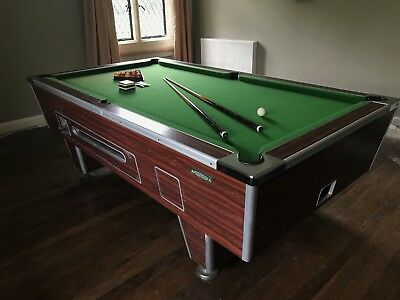 Pool Table slate bed 7ft x 4ft Superleague Good Condition Free Play