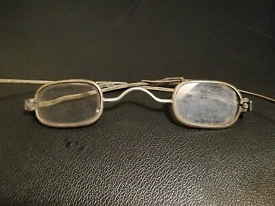 Antique SPECTACLES / EYEGLASSES RARE MARKED 20 EARLY 1800s