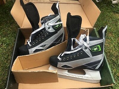 Mission fuel ice skates size 8 new in box never been used