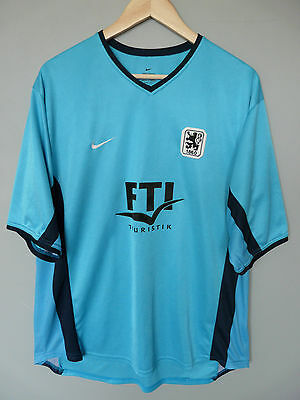 Vtg 1860 Munich Nike 2000 Home Football Shirt Trikot Jersey #17 Sz XL (185)