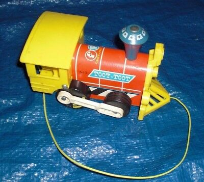 Vintage Fisher Price Toot Toot Train - Ape33