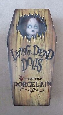 """Living Dead Dolls 18"""" Porcelain Posey - RRP 50, Never removed from box"""