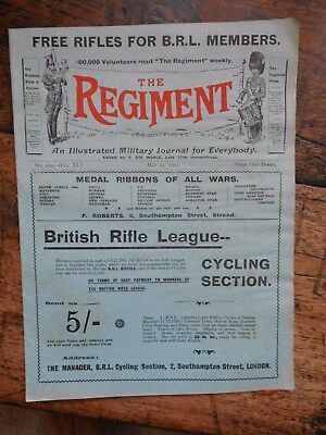The Regiment , Military Journal May 25Th 1901 Boer War Interest