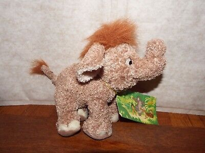 RARE Disney Jungle Book Hathi Jnr soft plush figure toy elephant baby with tag