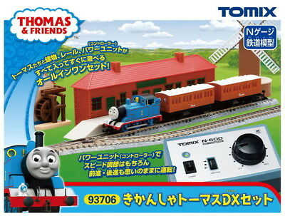 TOMIX N Gauge Thomas the Tank Engine DX Set 93706 Tomy Tec Train Toy Japan New