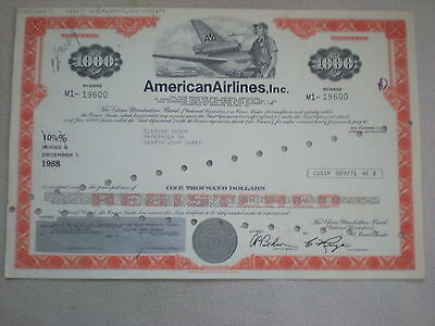 USA  - American Airlines Inc.  1000 $   10/427  rot