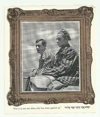 Judaica Israel Old Photo Picture from Old Haggada
