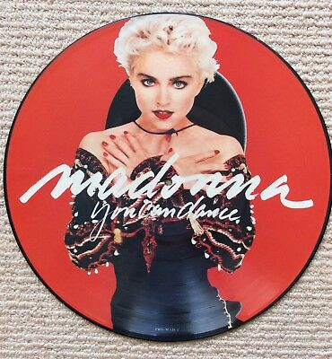 MADONNA. You Can Dance. German Issue Promotional Picture Disc. PRO-MAD1