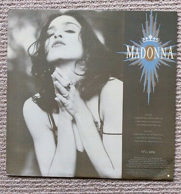 MADONNA. Like A Prayer. US Promotional Vinyl With Picture Sleeve.