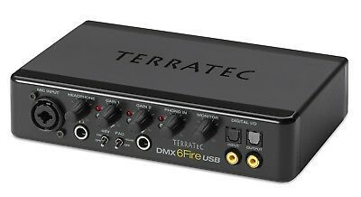 TERRATEC DMX 6Fire USB | externe Soundkarte | High End | Sofortkauf