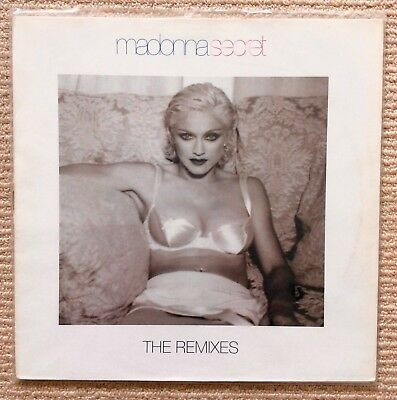 "MADONNA. Secret 12"" The Remixes. Picture Sleeve, German Issue"