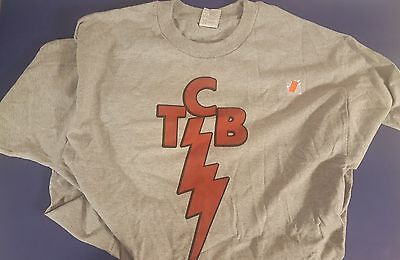 Elvis Presley TCB Taking Care Of Business In A Flash T Shirt size L Large new