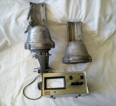 CDE Ham antenna rotator x 2 plus controller spares or repair