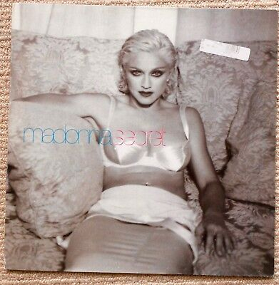 "MADONNA. Secret 12"" Picture Sleeve. German Issue. VERY RARE."