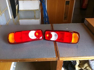 REAR TAIL LAMPS FOR IVECO DAF VOLVO  LEFT & RIGHT (1 Pair)