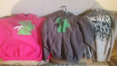 Lot of (3) Duck Dynasty Hoodies