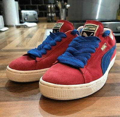 Puma Suede RED UK Size 6 in Fantastic Condition Hip-Hop/B-Boy/Retro/Vintage