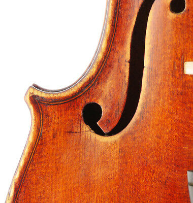 Excellent, antique SERAFINO CASINI Italian labeled old 4/4 master violin - geige