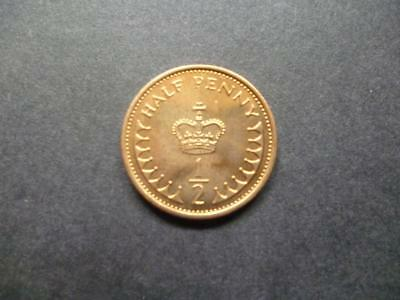 1983 Uncirculated Half Penny Piece. 1983 1/2P Coin In Uncirculated Condition.