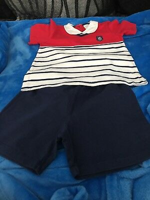 Boys Age 36 Months Tutto Piccolo Shorts And T-shirt Set