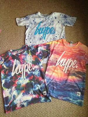Boys bundle of Hype t-shirts age 11-12 ueats