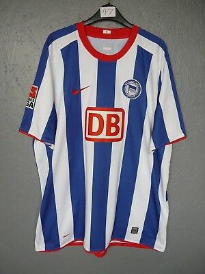 Hertha Berlin 3 Friedrich Nike 2008 Home Football Shirt Trikot Sz 2XL (047)