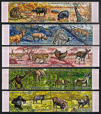 Burundi.  1971.  African Animals (1st Series).    SG613-632.   Used.