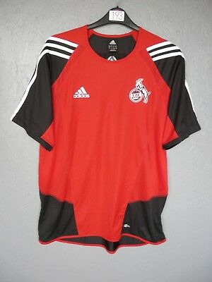 1 FC Koln Adidas Football Training Shirt Trikot Jersey Sz 46-48 D9 (193)