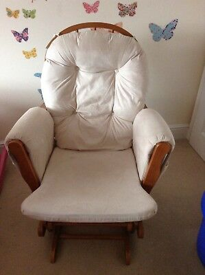 Rocking Nursing glider Chair And Foot Stool