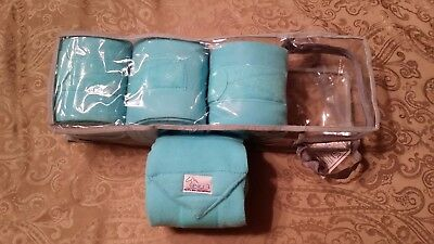 Pri Pacific Rim Fleece Polo Wraps (Turquoise)