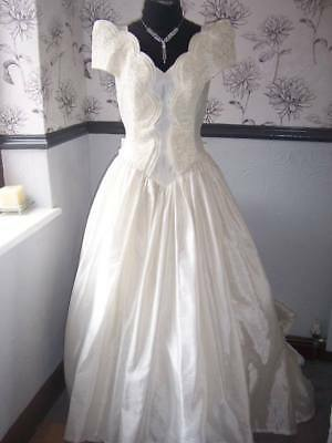 Wedding dress, vintage style ,game/role play theatre size 14