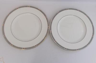 "Coalport ""Copley"" Pair of 10 3/4 inch Dinner Plates."