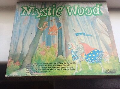 Vintage MYSTIC WOOD  Game 'Terence Donnelly' 1980 RARE!!  Great Condition.