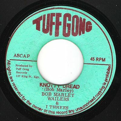 ♫ LISTEN - TUFF GONG original pressing Knotty Dread - WAILERS (with great dub)