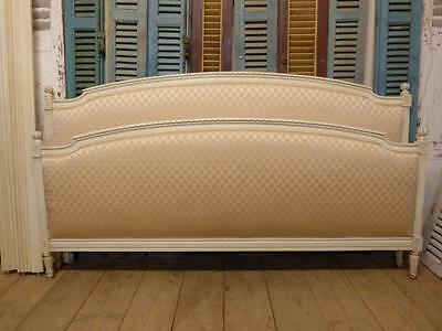 VERY RARE VINTAGE FRENCH  EMPEROR BED -  6ft wide