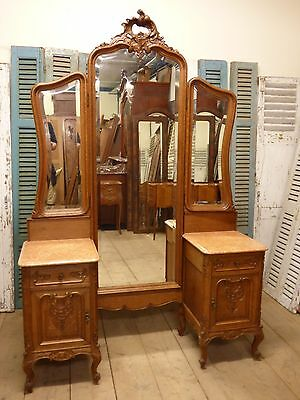 Antique French Dressing Table - ha96