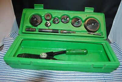 GreenLee 7806SB Quick-Draw hydraulic Punch Driver with punches