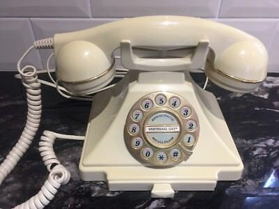 Retro Whitehall 1212 Telephone by Astral Cream