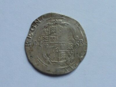 Charles 1st silver shilling, hammered coin