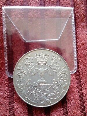 1977 Queens Silver Jubilee Crown Coin