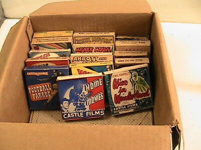 Lot of 16 mm Film Movies Mickey Mouse, etc. 15 films