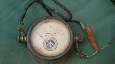 vintage amperes meter british make
