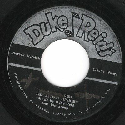 ♫ LISTEN - DUKE REID'S orig label 1960  (piece of reggae history) LOLLIPOP GIRL