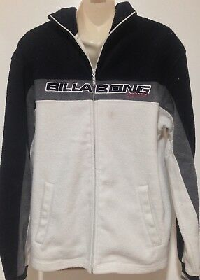 Thick Wooly BILLABONG Zippered Jacket - Size S