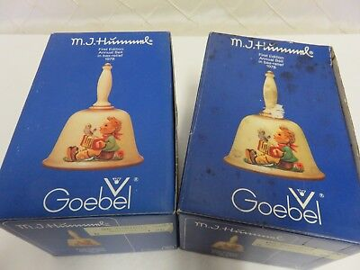 Vintage 1978 M.J. Hummel 1st Edition Annual Bell - New in Box 2 available