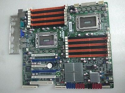 Refurbished ASUS KGPE-D16 DUAL G34 SOCKET MOTHERBOARD AMD Opteron 6200 6300 CPUs