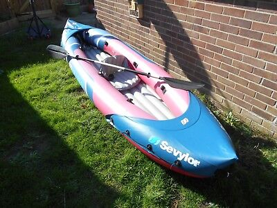 Sevylor Tahiti Plus Inflatable 3 Seat Kayak +++ RRP £220 +++ 448