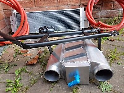 Charge Cooler, Radiator, Pump And Pipes Mr2 Roadster 2Zz Engine Brace Support