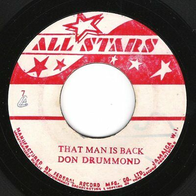 ♫ LISTEN - ALL STARS label - DON DRUMMOND/ ROLAND ALPHONSO - This Man Is Back