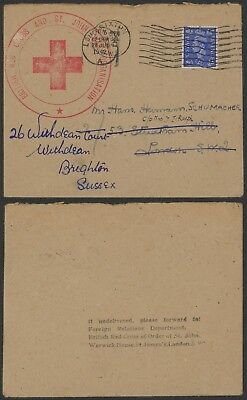 GB WWII 1942 - Red Cross cover to London 24339